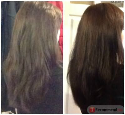 Крапива для волос фото до и после