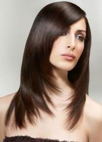 красивые стрижки на длинные волосы с челкой 3