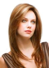 красивые стрижки на длинные волосы с челкой 6