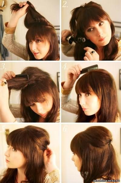 Стрижка для средних волос в домашних условиях фото