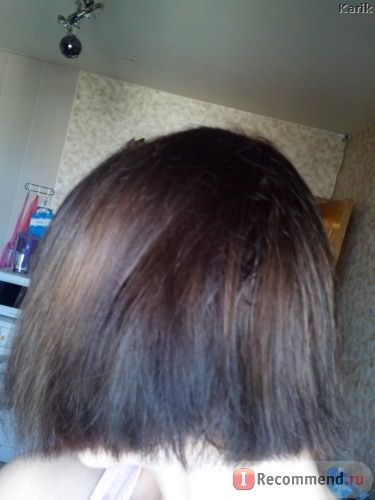 Волосы после второй помывки и использования маски Вэлла