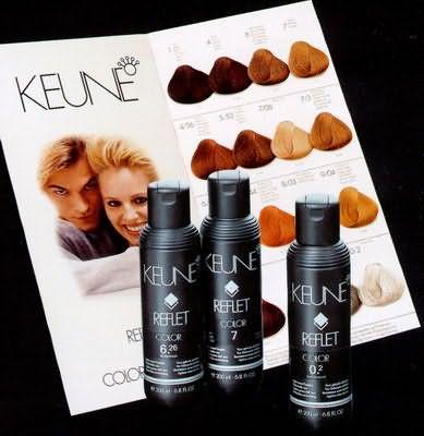 Профессиональная краска для волос Keune (Кене)