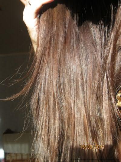 Волосы после.Солнечный свет