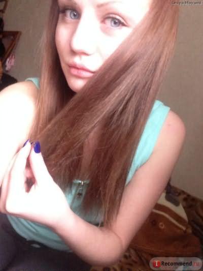 мой исходный цвет волос