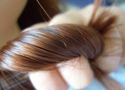 цвет волос лесной орех