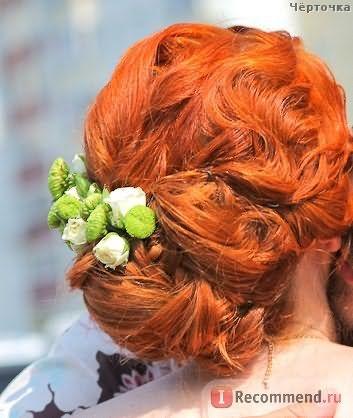 Этой краской я красила волосы перед свадьбой