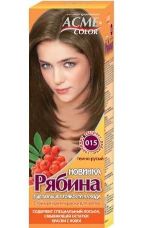 Краска для волос рябина без аммиака палитра цветов