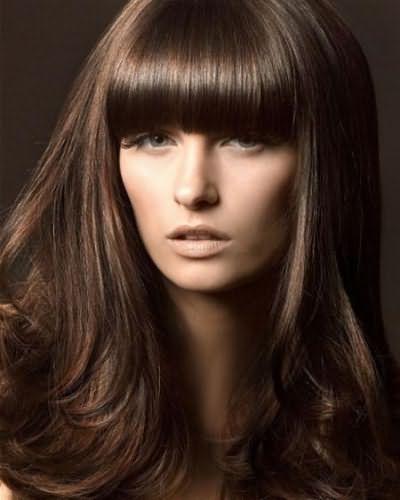 шоколадный оттенок волос фото