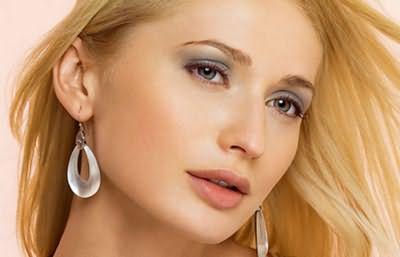 Окрашенные волосы в блонд