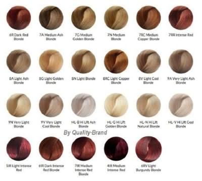краска для волос брилианс палитра