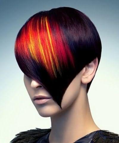 Вы будете выглядеть ярко и дерзко, если сделаете креативную покраску волос
