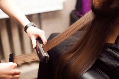 «Запечатывание» волос