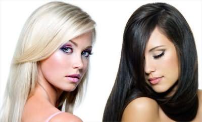 выпрямление волос навсегда