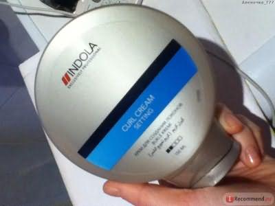 Крем для укладки Indola Setting Curl Cream фото