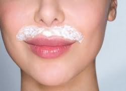 Крем для удаления волос на лице