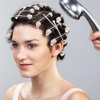 как делать химию для волос 7