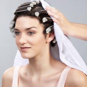 как делать химию для волос 8