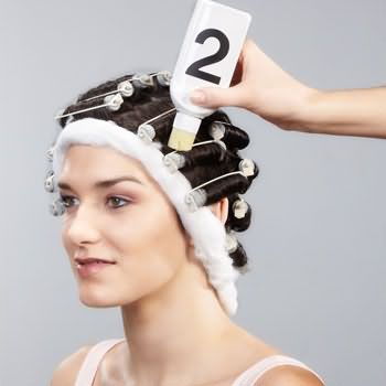 как делать химию для волос 9