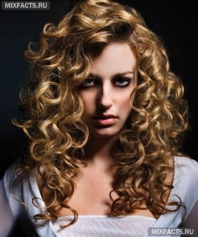 Как сделать химию волос