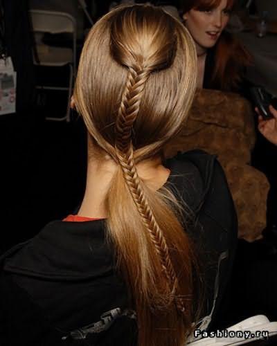 Сочетание хвостов и кос