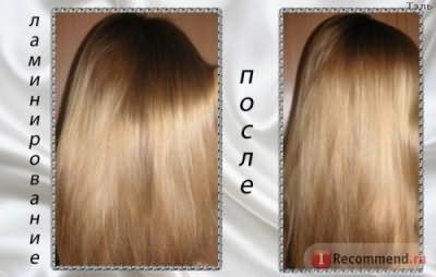 Ламинирование волос в домашних условиях: дешево и эффективно.
