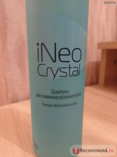 Шампунь для ламинированных волос Estel OTIUM iNeo-Crystal фото
