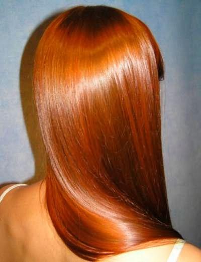 Блес ламинированных волос