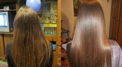 и отзыв ламинирование волос в салоне красоты