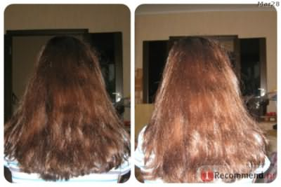 первая помывка, волос в естественном состоянии- не укладывала и феном не пользовалась