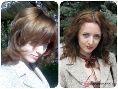 2007-2008 год, на первом фото волосы только окрашены, на втором- попытка отрастить длину (уже секутся, лостигнув плеч)