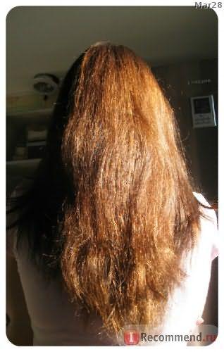 реальное состояние волос при увлечении масками из масел