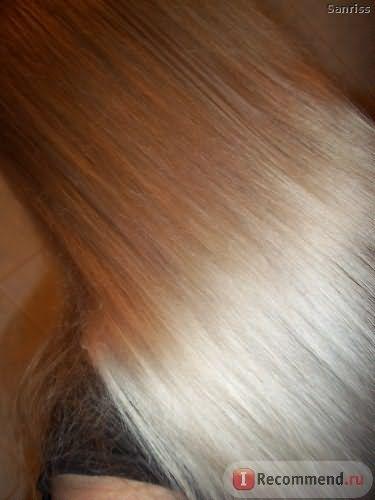 Волосы после бальзама с эффектом ламинирования