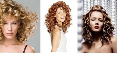 Волосы средней длины формируют отличный дуэт с различными видами завивки.