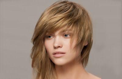 Легкая укладка на длинные волосы