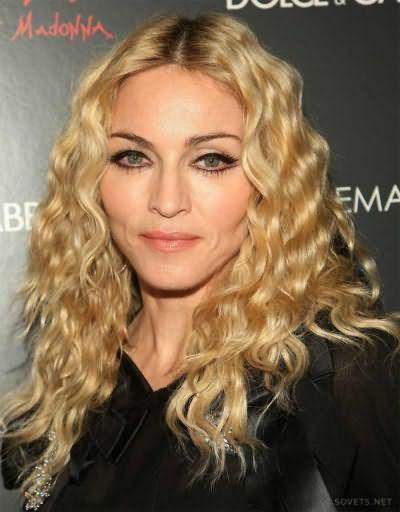 Волнистые локоны как у Мадонны