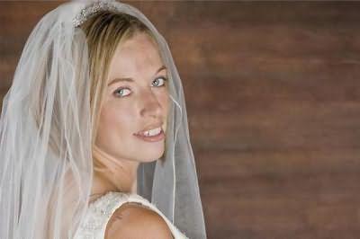 свадебные прически на короткие волосы без челки