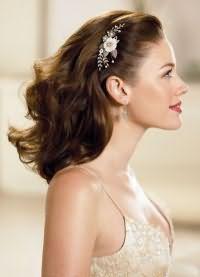 красивые локоны на средние волосы 3