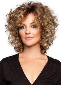 красивые локоны на средние волосы 5