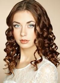 6красивые локоны на средние волосы 6