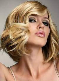 красивые локоны на средние волосы 8