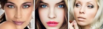 Повседневный мэйк-ап для голубых глаз