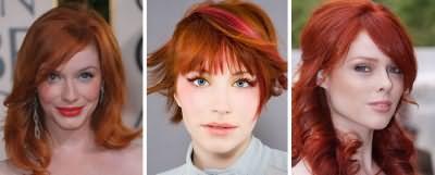Макияж для рыжих волос и голубых глаз
