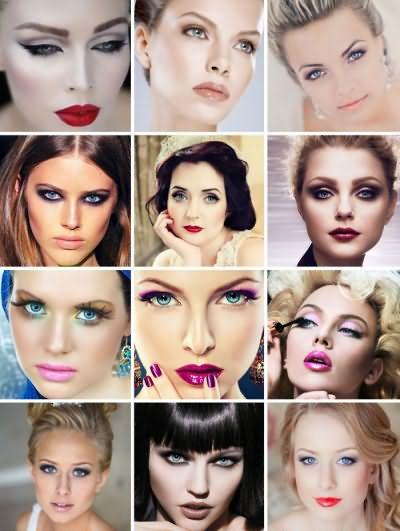 Варианты макияжа для голубоглазых девушек с фото