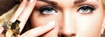 Бежевые и дымчатые оттенки макияжа