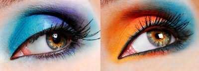 Бирюзовые тени для макияжа