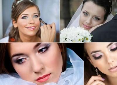 Свадебный образ с карими глазами