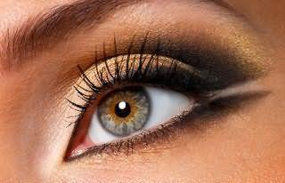 Макияж для серых глаз.