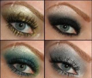Варианты макияжа для серых глаз.