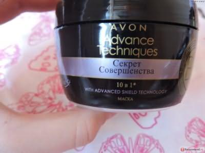 Маска для волос Avon Advance Technigues секрет совершенства 10 в 1 фото