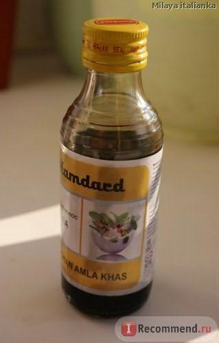 Масло для волос Roghan Amla Khas Амла Hamdard фото